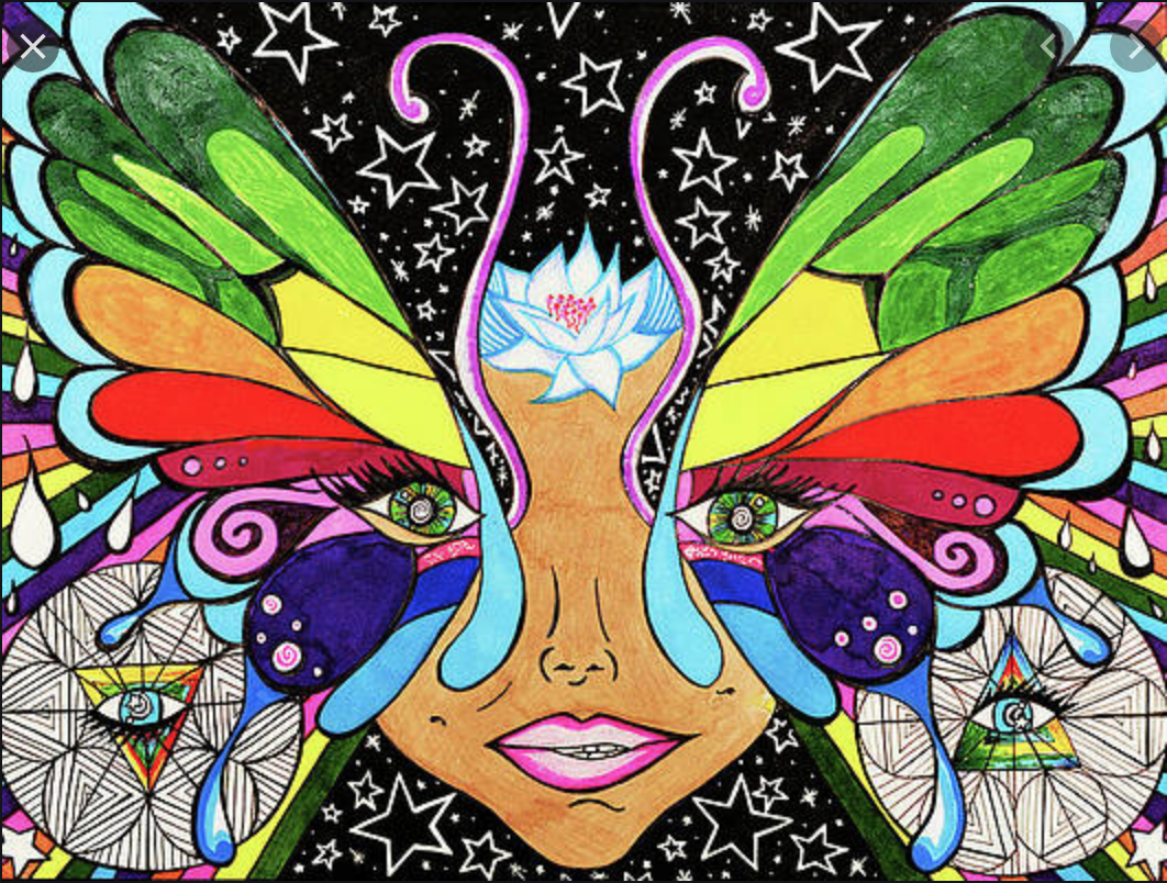 Heartspace Art_Murals with a Message_Metamorphosis__butterfly_lotus_art_jacksonville_fl_eyes